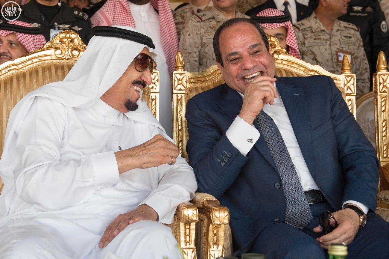 الملك سلمان والسيسي (2)