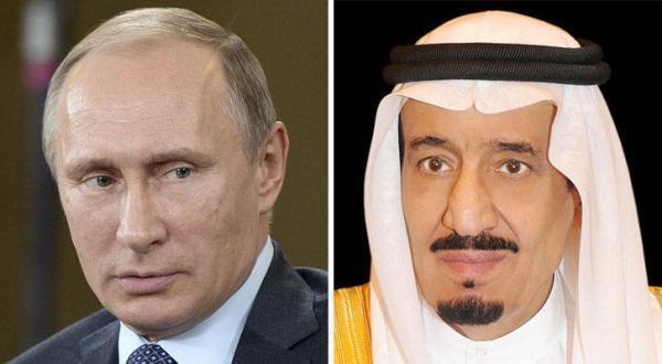 الملك سلمان لبوتين : نرفض الإرهاب ومكافحته مسؤولية دولية مشتركة