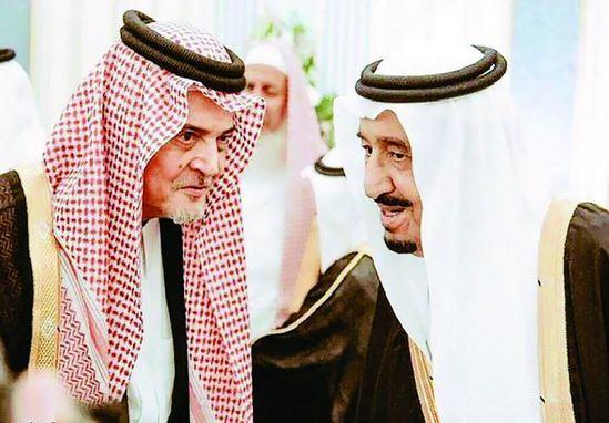 الملك-سلمان-وسعود-الفيصل