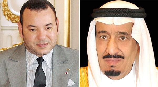 الملك سلمان ومحمد السادس