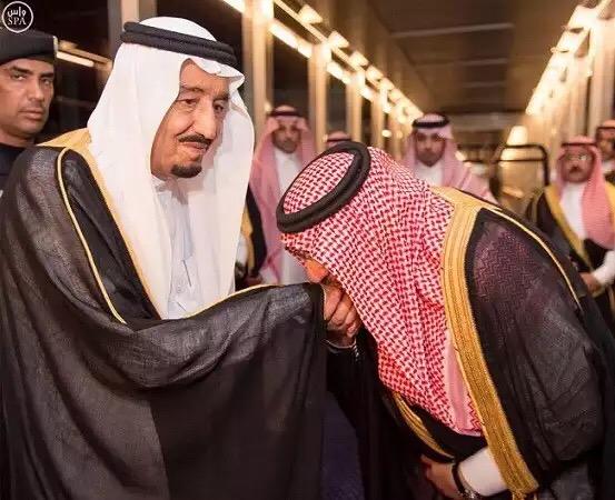 الملك سلمان ومحمد بن نايفaa