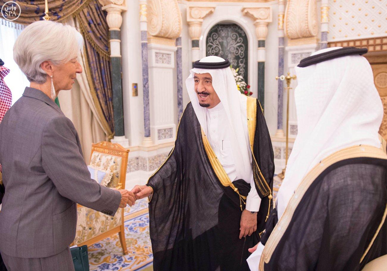 الملك-سلمان ومدير-النقد-الدولي (1)