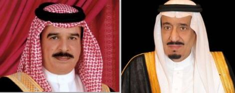 الملك سلمان وملك البحرين