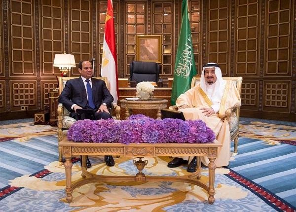 جلسة مباحثات سعودية مصرية تناقش مستجدات الأوضاع في المنطقة