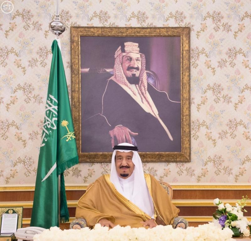 الملك سلمان يتسلم أوراق اعتماد 12 سفيراً لدى السعودية (4)