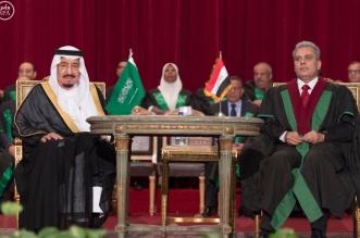 #الملك_سلمان يُشرك الشعب في شهادته الفخرية.. سادس زعيم يتسلمها من جامعة القاهرة - المواطن