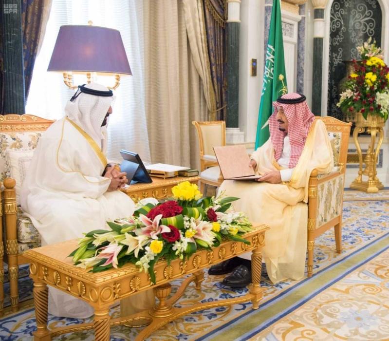 الملك سلمان يتلقى دعوة من ولي عهد أبو ظبي (3)