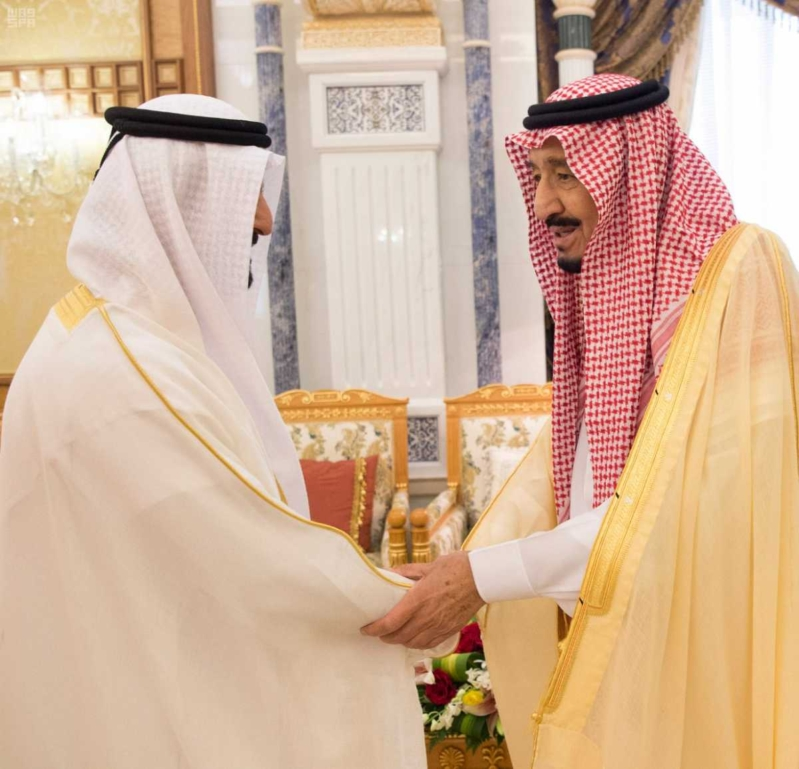 الملك سلمان يتلقى دعوة من ولي عهد أبو ظبي (5)