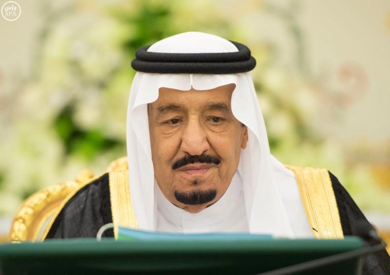 الملك سلمان يرأس مجلس الوزراء1