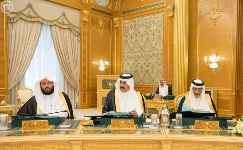 الملك سلمان يرأس مجلس الوزراء11