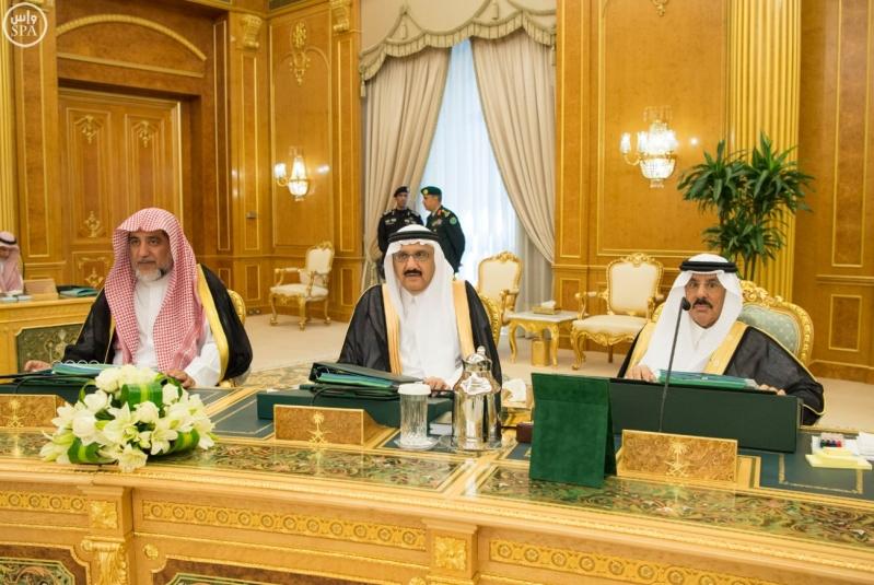 الملك سلمان يرأس مجلس الوزراء14