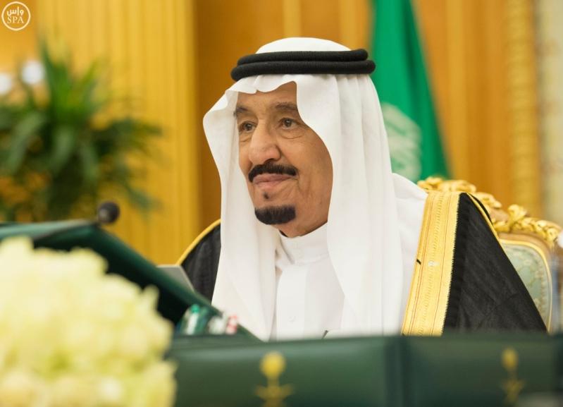 الملك سلمان يرأس مجلس الوزراء2