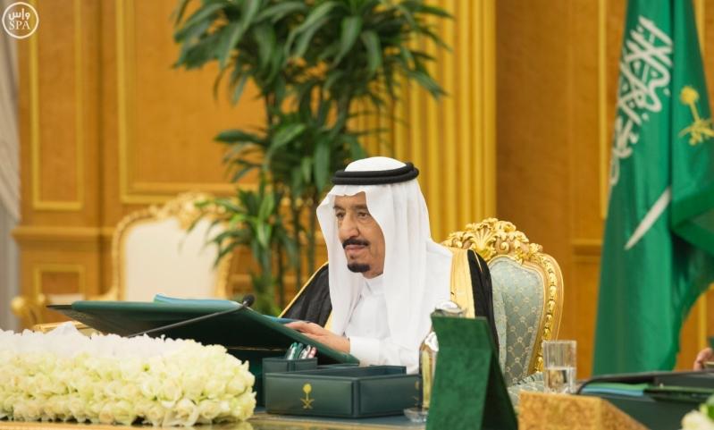 الملك سلمان يرأس مجلس الوزراء3