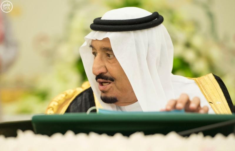 الملك سلمان يرأس مجلس الوزراء4