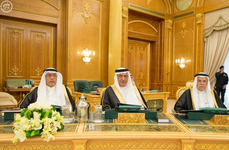 الملك سلمان يرأس مجلس الوزراء7
