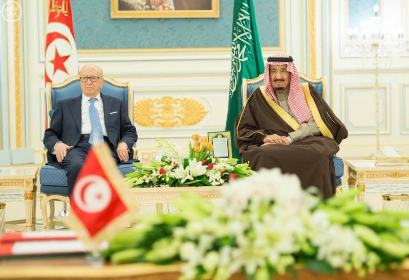 الملك سلمان يستقبل الرئيس التونسي 14