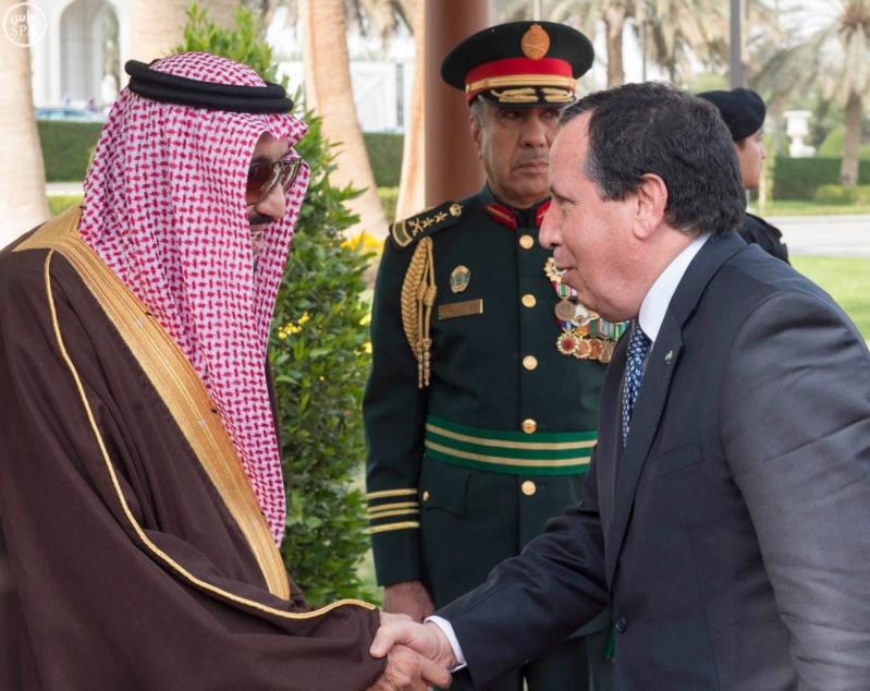 الملك سلمان يستقبل الرئيس التونسي 5
