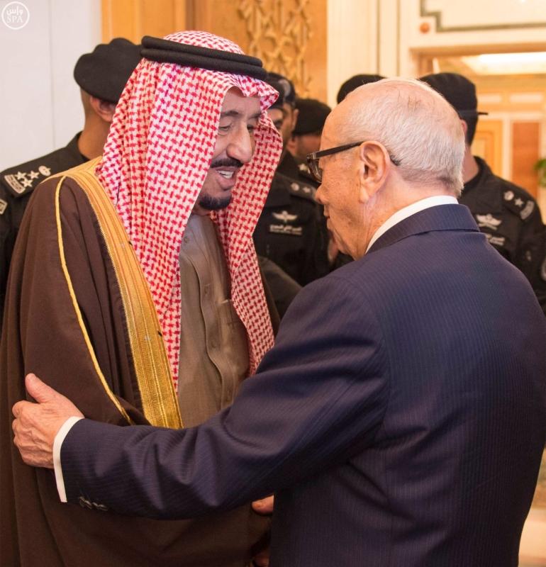 الملك سلمان يستقبل الرئيس التونسي 9