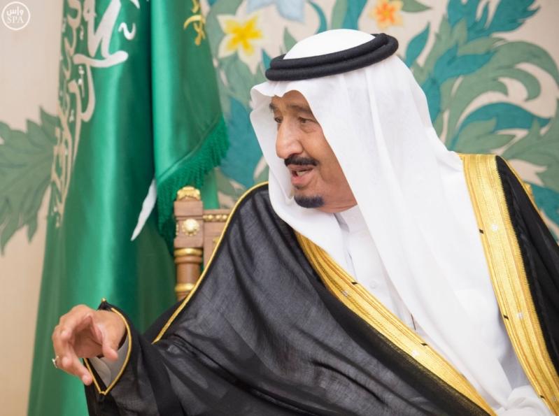 الملك سلمان يستقبل امراء المناطق 2