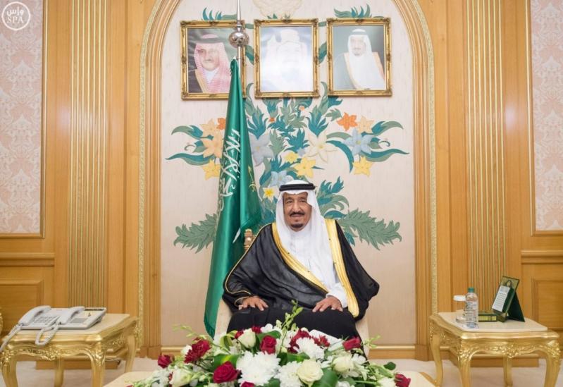 الملك سلمان يستقبل امراء المناطق