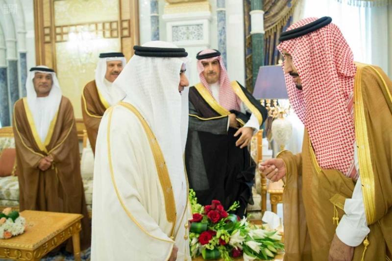 الملك سلمان يستقبل رؤساء دواوين مجلس التعاون (3)