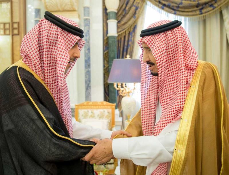 الملك سلمان يستقبل رؤساء دواوين مجلس التعاون (6)