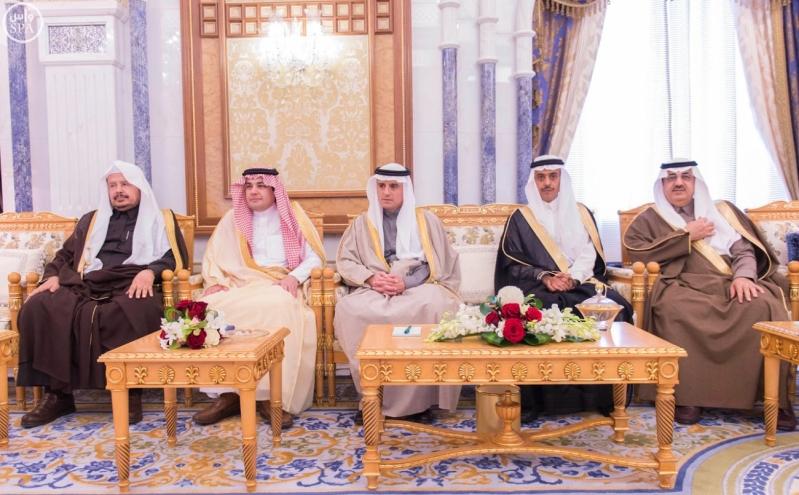 الملك سلمان يستقبل رئيس البرلمان1