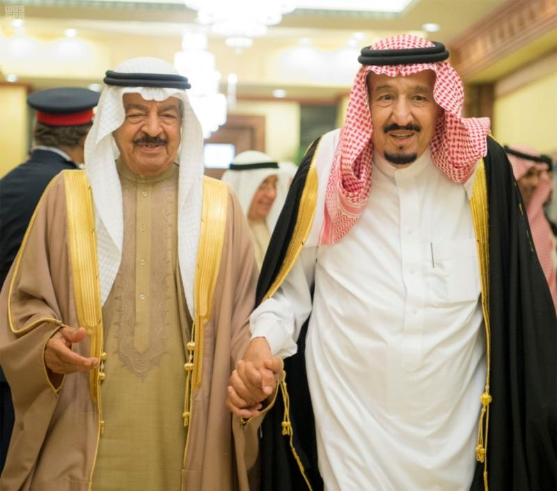 الملك سلمان يستقبل رئيس وزراء مملكة البحرين (34669060) 