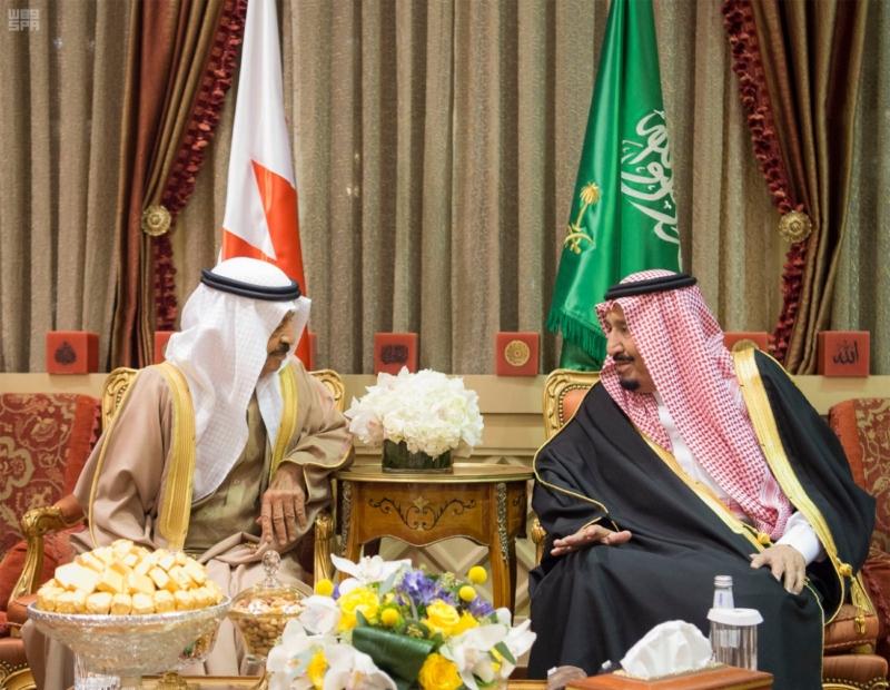 الملك سلمان يستقبل رئيس وزراء مملكة البحرين (34669064) 