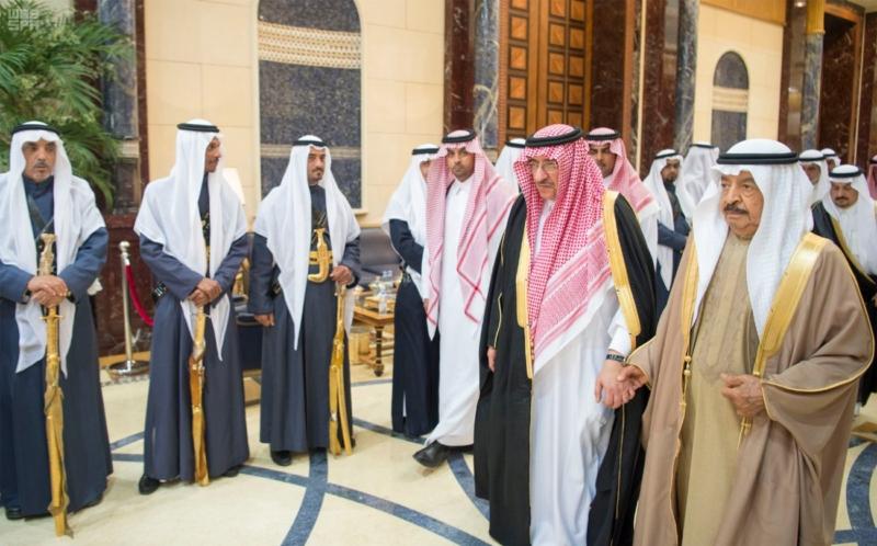 الملك سلمان يستقبل رئيس وزراء مملكة البحرين (34669066) 