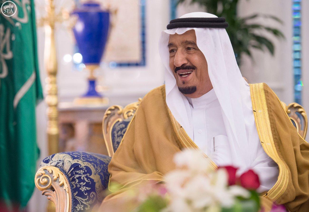 الملك سلمان يستقبل عميد السلك الدبلوماسي ورؤساء المجموعات الدبلوماسية (4)
