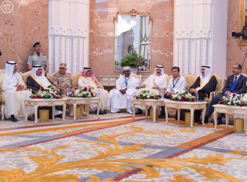 الملك-سلمان-يستقبل-قادة-الدول-الاسلامي (12)