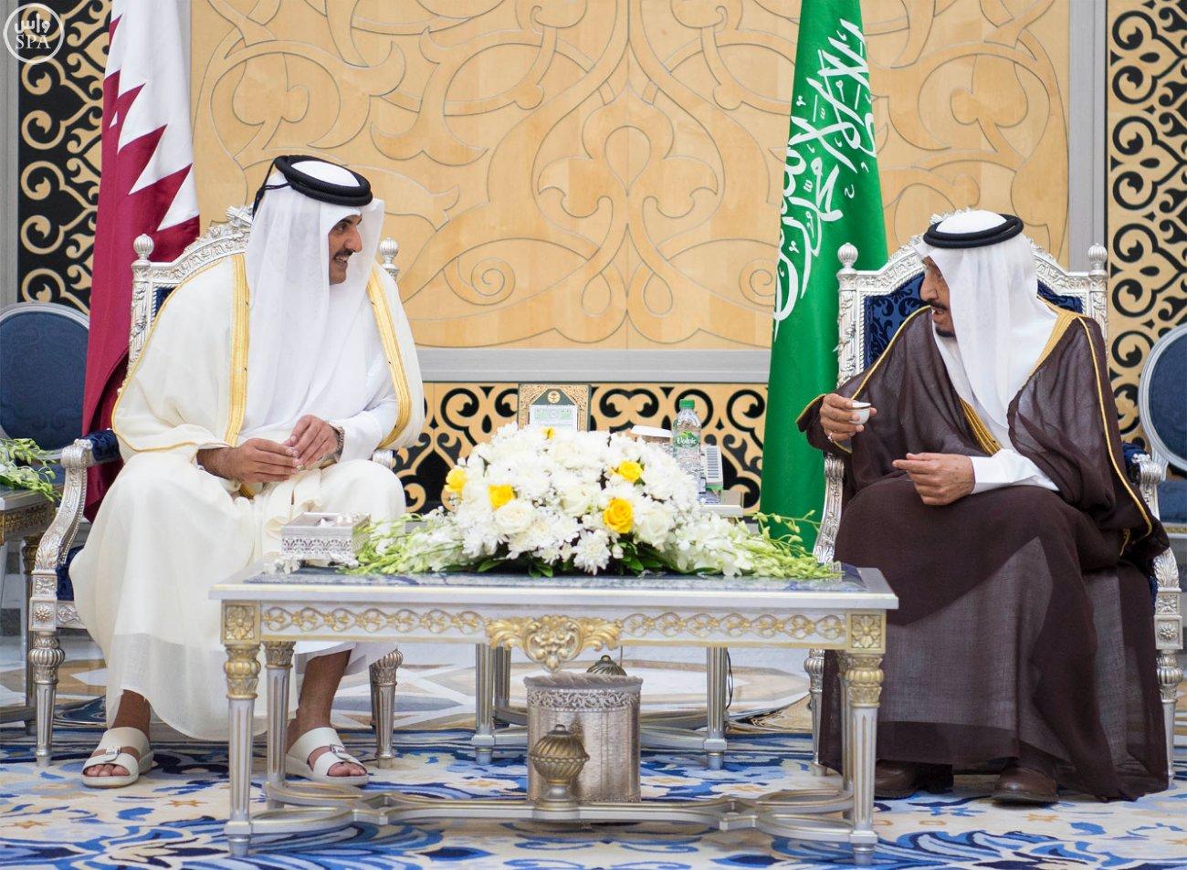الملك سلمان يستقبل قادة دول الخليج (2)