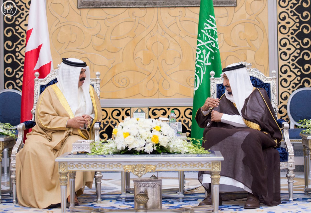 الملك سلمان يستقبل قادة دول الخليج (4)