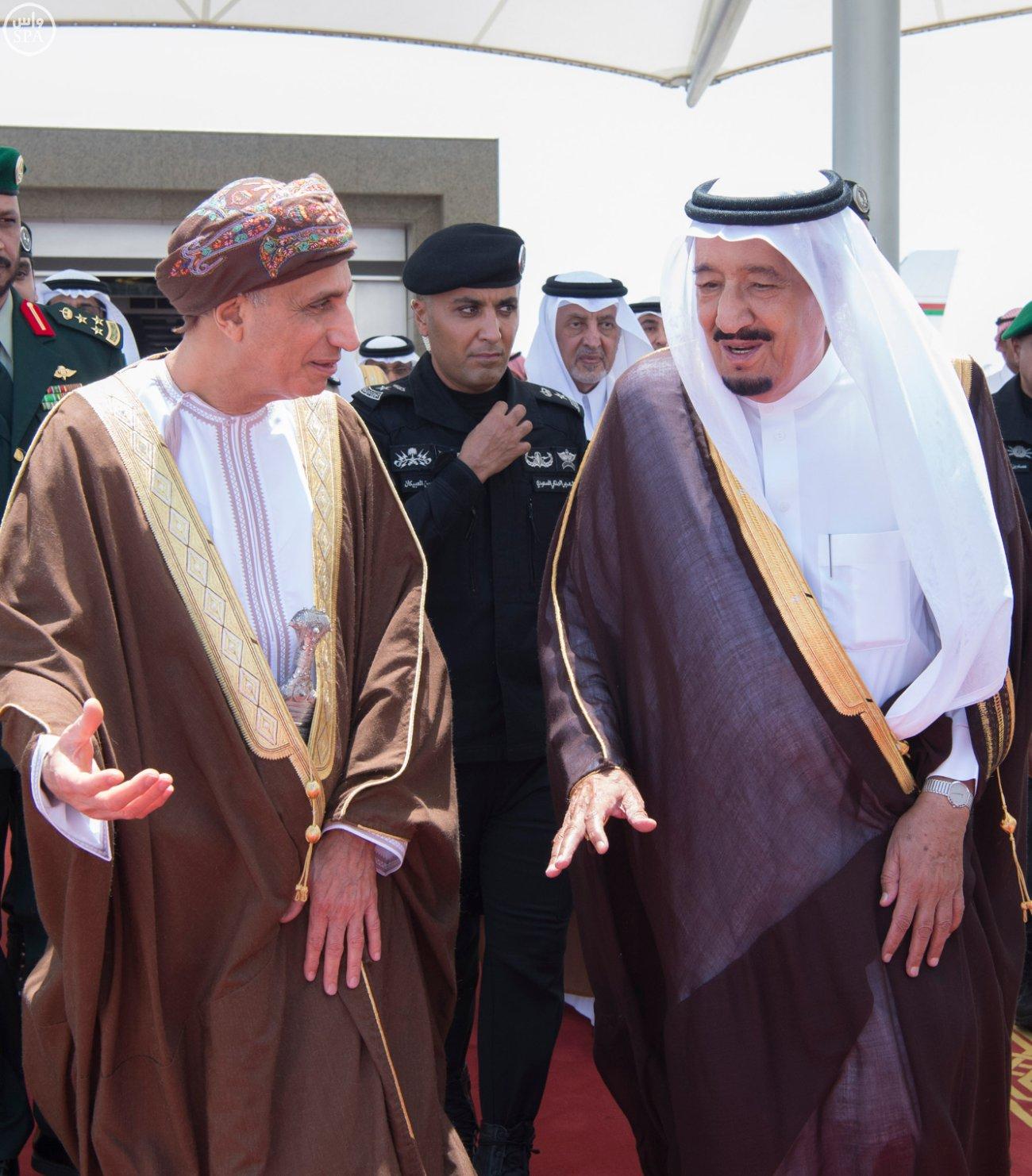 الملك سلمان يستقبل قادة دول الخليج (5)