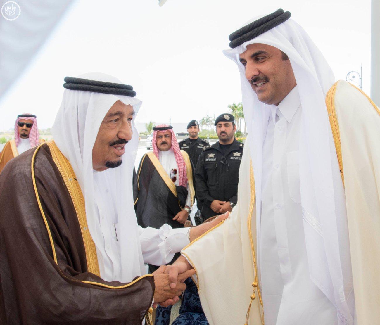 الملك سلمان يستقبل قادة دول الخليج (6)
