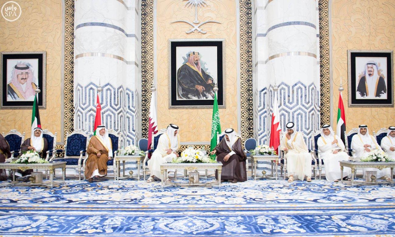 الملك سلمان يستقبل قادة دول الخليج (7)