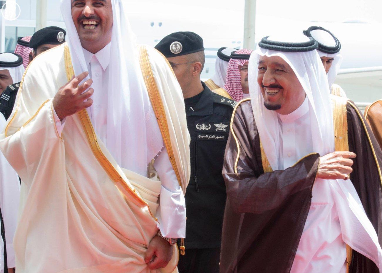 الملك سلمان يستقبل قادة دول الخليج (9)