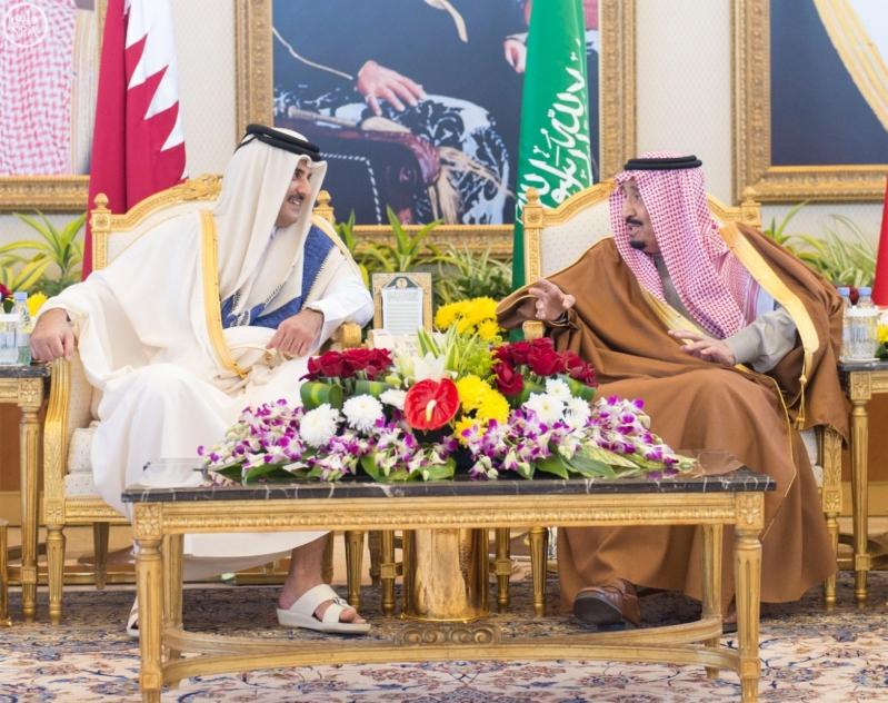 الملك سلمان يستقبل قادة دول مجلس التعاون 1