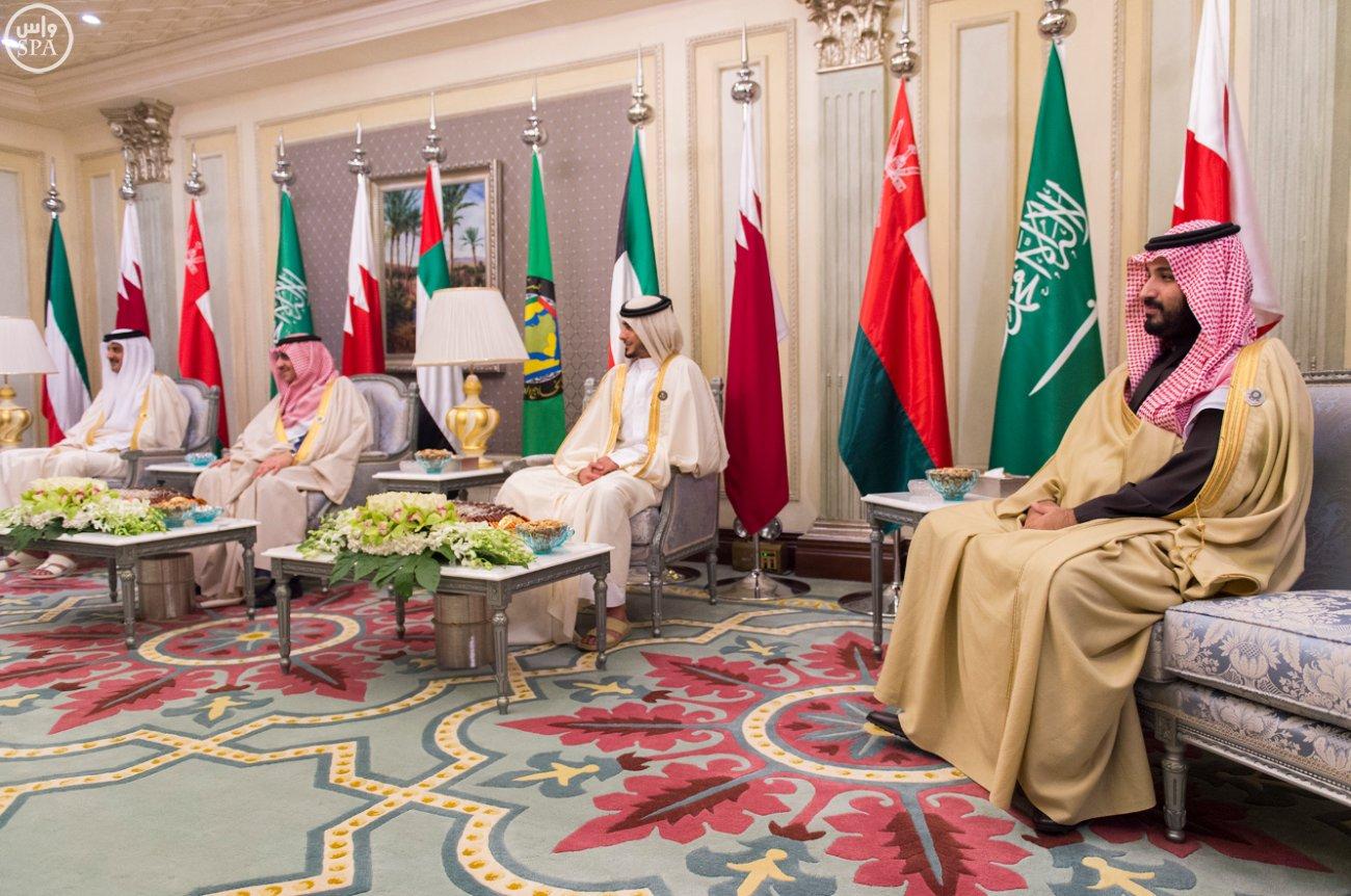 الملك-سلمان-يستقبل-قادة-دول-مجلس-التعاون (1)