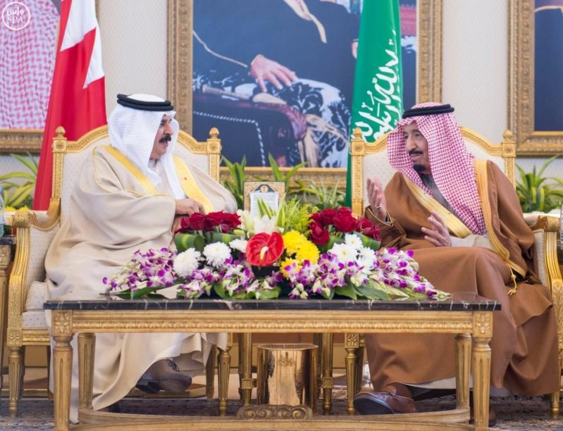 الملك سلمان يستقبل قادة دول مجلس التعاون 2