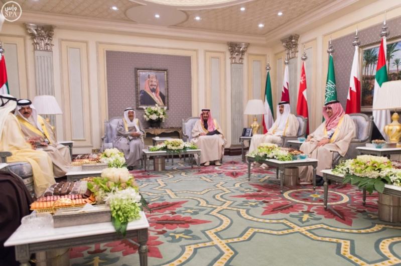 الملك-سلمان-يستقبل-قادة-دول-مجلس-التعاون (2)