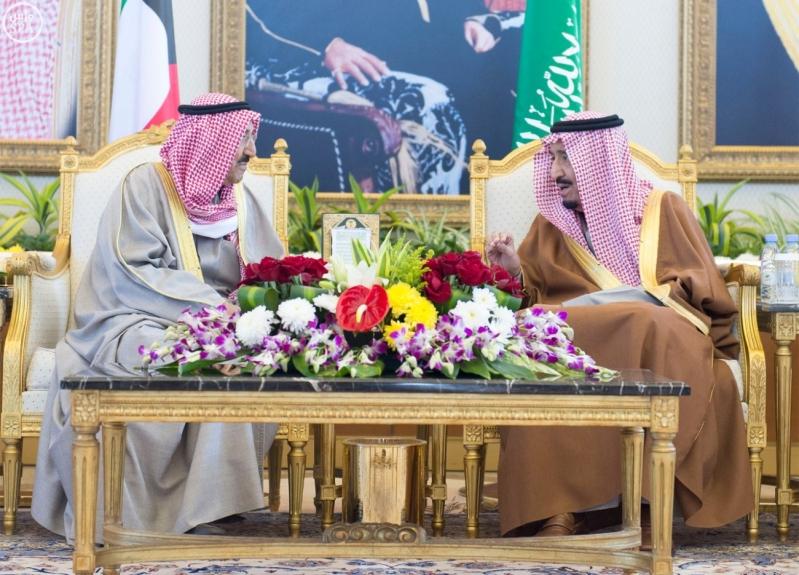 الملك سلمان يستقبل قادة دول مجلس التعاون  3