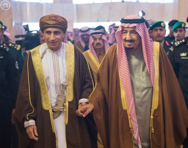 الملك سلمان يستقبل قادة دول مجلس التعاون 5