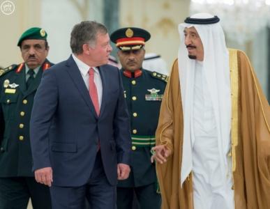 الملك سلمان يستقبل ملك الاردن.jpg6
