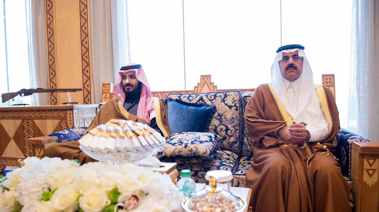 الملك سلمان يستقبل وزير الخارجية الامريكي جون كيري (1)
