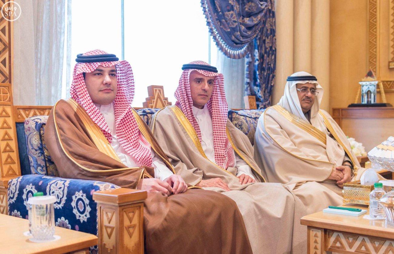 الملك سلمان يستقبل وزير الخارجية الامريكي جون كيري (3)