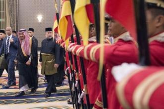 الملك سلمان يشرف حفل عشاء ملك ماليزيا (6)