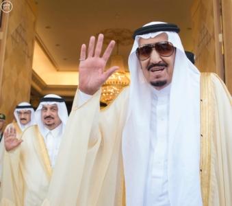الملك سلمان يعقد جلسة مباحثات مع الرئيس التركمانستي.jpg13