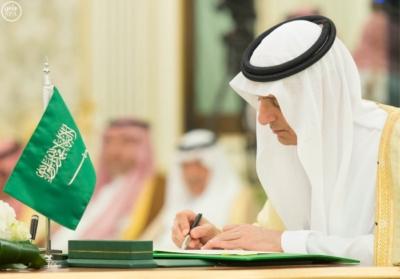 الملك سلمان يعقد جلسة مباحثات مع الرئيس التركمانستي.jpg4
